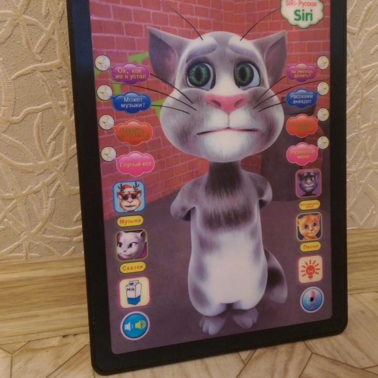 Интерактивная игрушка 3D Кот Том