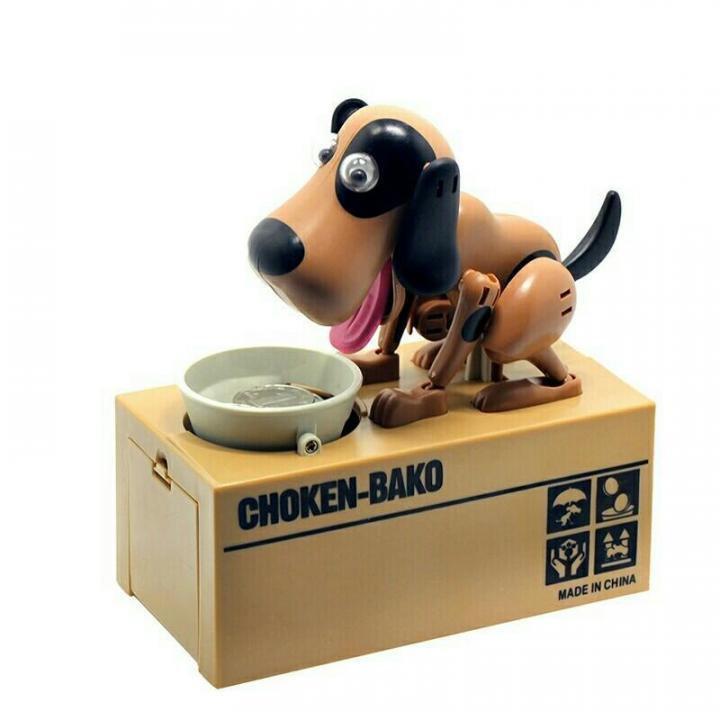 Интерактивная игрушка CP DIGITAL Собака-копилка