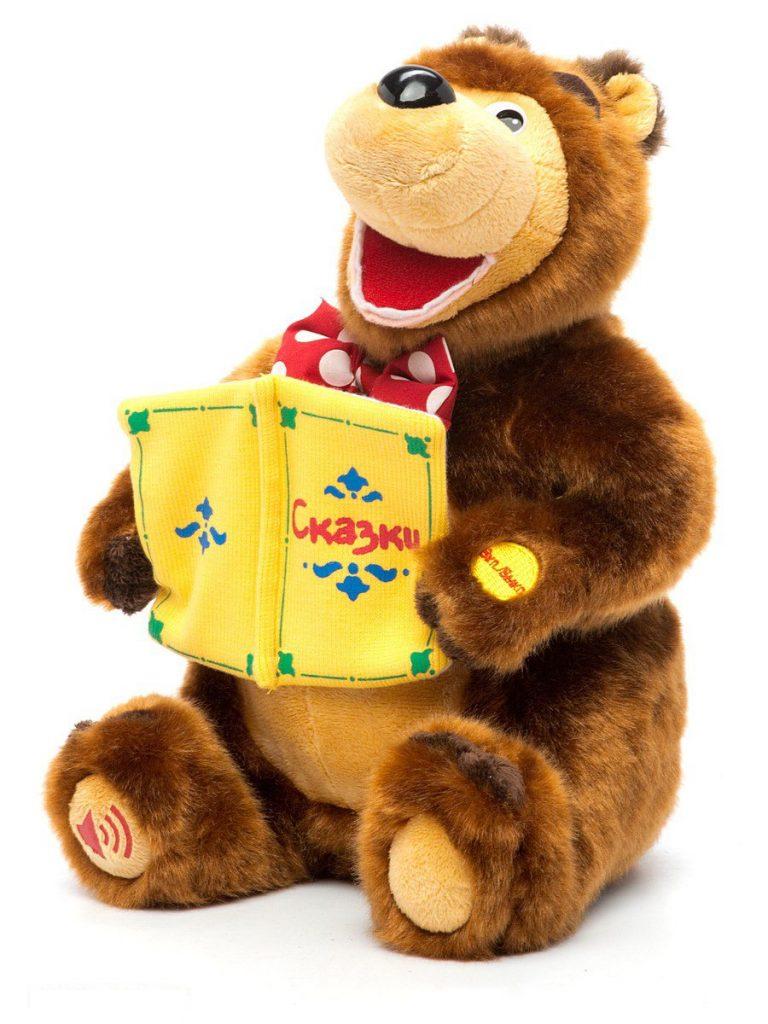 Интерактивная игрушка Медведь - Маша и Медведь